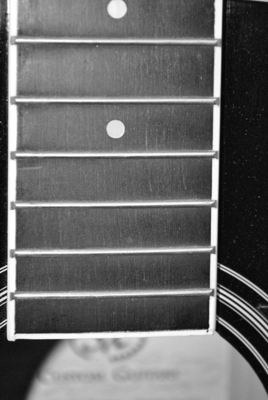 Day 4 of 365 - my guitar neck w/out strings